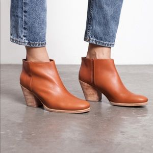 Rachel Comey Mars leather boots whiskey brown sz 6